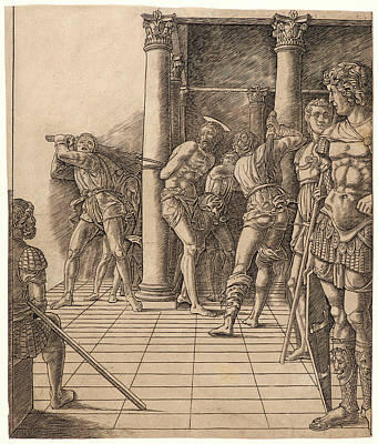 Attributed To Andrea Mantegna Italian, Ca. 1431 - 1506 Art Print by Litz Collection