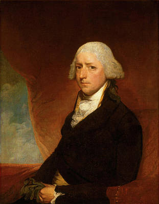 Attributed To Gilbert Stuart, John Ashe, American Art Print