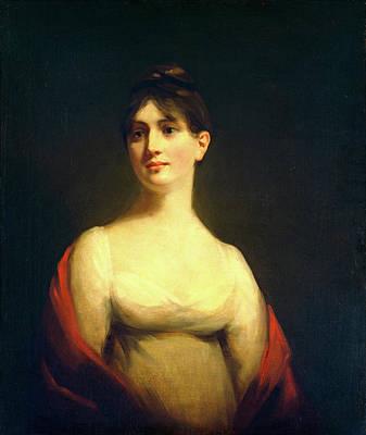 Raeburn Painting - Attributed To Sir Henry Raeburn, Miss Davidson Reid by Litz Collection