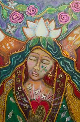 Shiloh Sophia Art Painting - Attunement by Havi Mandell