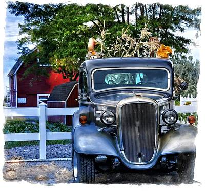 Autumn Days Now And Forever Art Print by Image Takers Photography LLC - Laura Morgan