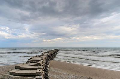 Atwater Photograph - Atwater Pier by Randy Scherkenbach