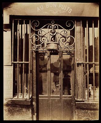 Au Bon Puits, Rue Michel Le Conte, 36 IIie Eugène Atget Art Print