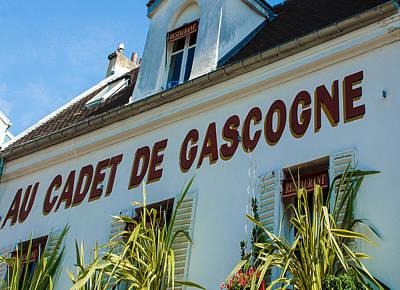 Photograph - Au Cadet De Gascogne by Dany Lison