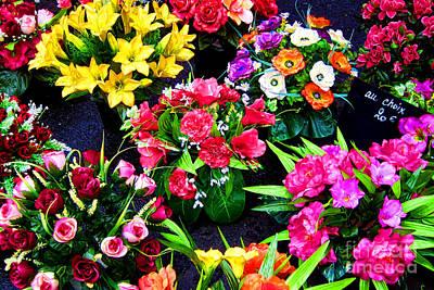 Fresh Flowers Photograph - Au Choix by Olivier Le Queinec