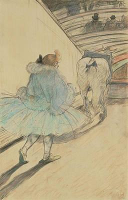 Au Cirque Entrèe En Piste Henri De Toulouse-lautrec Art Print