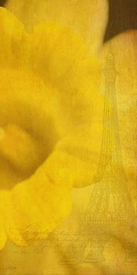 Photograph - Au Coeur De La Jonquille by Lisa Knechtel