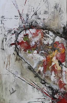 Painting - Au Coeur De La Toile Ciree De L'habitude by Lucy Matta - Lulu