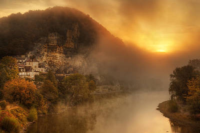 Photograph - Au Point Du Jour-dordogne France by John Galbo