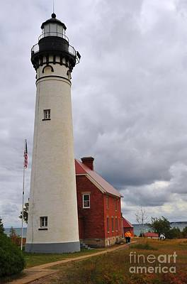 Photograph - Au Sable Point Light by Terri Gostola