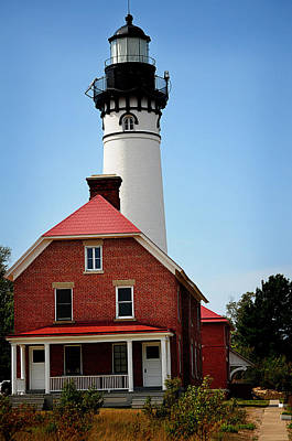 Photograph - Au Sable Point Lighthouse by Jenn Bowers
