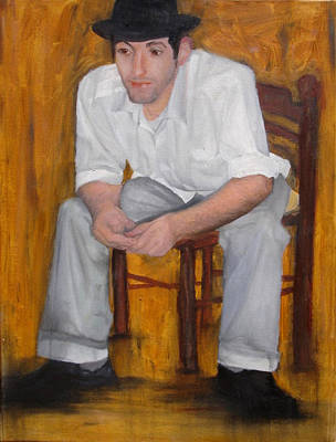 Painting - Au Salon by Erin Brinkman