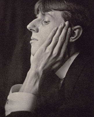 Chin On Hand Photograph - Aubrey Beardsley by Frederick Evans