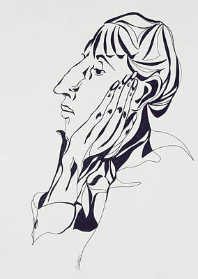 Aubrey Beardsley Art Print by Stevie Taylor