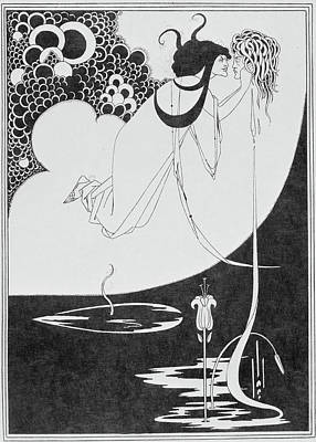 Aubrey Beardsley's Drawings Art Print by British Library