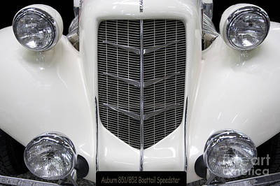Steampunk Royalty-Free and Rights-Managed Images - Auburn 851/852 Speedster Boattail by Heiko Koehrer-Wagner