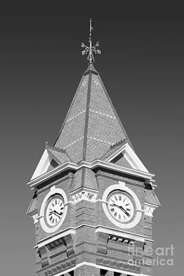 Photograph - Auburn University Samford Hall Clock Tower by University Icons