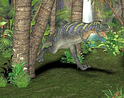 Paleozoology Photograph - Aucasaurus Dinosaur by Friedrich Saurer