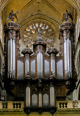 Photograph - Auch Organ by Jenny Setchell