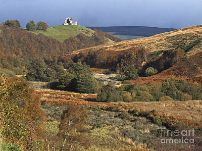 Photograph - Auchindoun Castle - Glen Fiddich by Phil Banks
