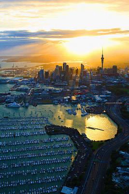 Auckland Oil On Canvaz Original
