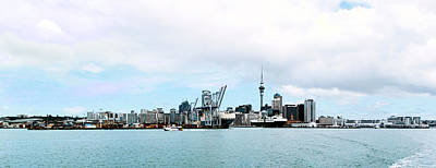 Photograph - Auckland Waterfront by C H Apperson