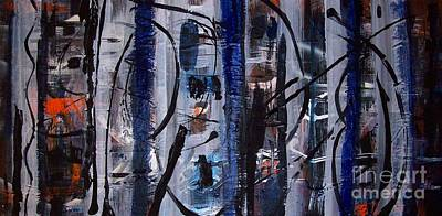 Painting - Audacity by Yul Olaivar