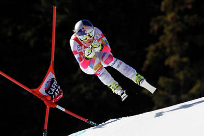 Skiing Photograph - Audi Fis Alpine Ski World Cup - Womens by Alexis Boichard/agence Zoom