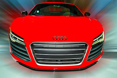 Photograph - Audi  R8  V10  Plus  Coupe  2014 by Dragan Kudjerski