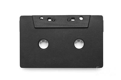 Dubbing Photograph - Audio Cassette Tape by Cristian M Vela