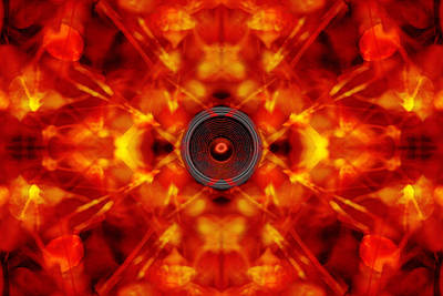 Audio Kaleidoscope Art Print
