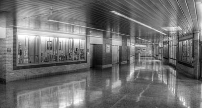 Photograph - Auditorium Lobby by Coby Cooper