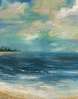 Aruba Painting - Audra's Beach by Alisha Lee Jeffers