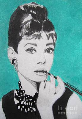 Painting - Audrey by Denise Railey