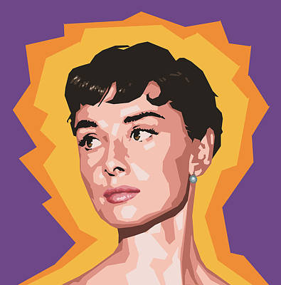 Tiffany Digital Art - Audrey by Douglas Simonson