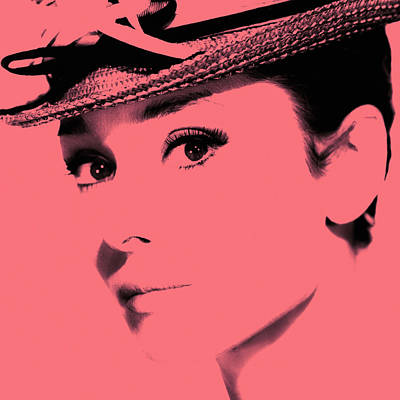Photograph - Audrey Hepburn 3 by Andrew Fare