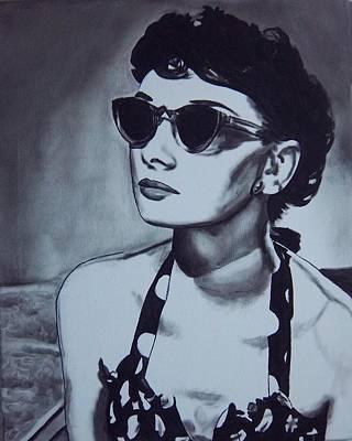 Painting - Audrey Hepburn by Lori Keilwitz