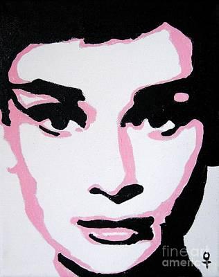 Audrey Hepburn Art Print by Venus