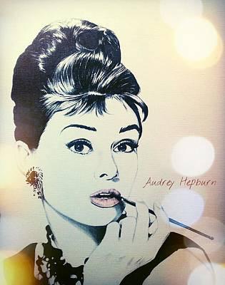 Audrey Art Print by Richard James