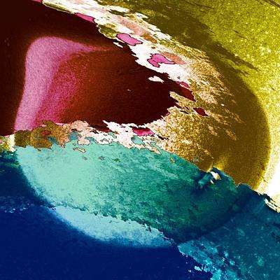 Digital Art - Aufloesung by Peter Norden