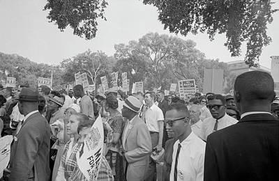 Discrimination Photograph - August 28, 1963 - Protestors by Stocktrek Images