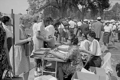 Discrimination Photograph - August 28, 1963 - Souvenir Booklet by Stocktrek Images