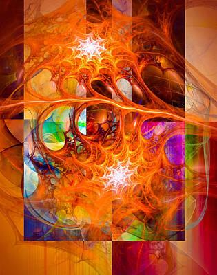 August Chill - Abstract Art Prints Art Print by Modern Art Prints
