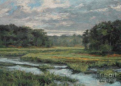 Painting - August Evening - Wellfleet by Gregory Arnett