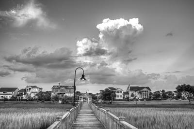 Photograph - August In Rivertowne by Walt  Baker