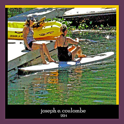 Photograph - August Kayak Dazes by Joseph Coulombe