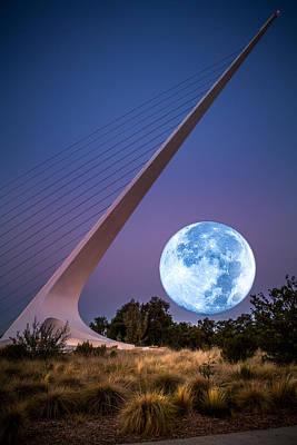 August Moon Art Print by Randy Wood