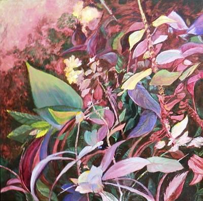 August Tangle Art Print