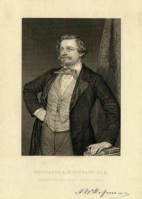 August Wilhelm Hofmann Art Print by Chemical Heritage Foundation