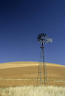 Photograph - August Windmill by Doug Davidson